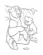 Koda fratello orso da colorare 275