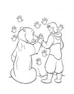 Koda fratello orso da colorare 286