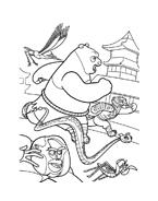 Kung fu panda da colorare 50