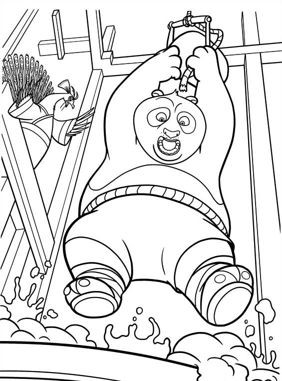 Kung fu panda da colorare 64
