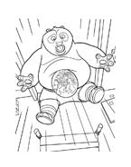Kung fu panda da colorare 70