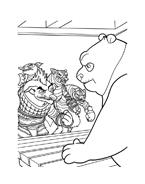 Kung fu panda da colorare 71