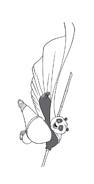 Kung fu panda da colorare 91