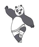 Kung fu panda da colorare 93