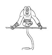 Kung fu panda da colorare 94