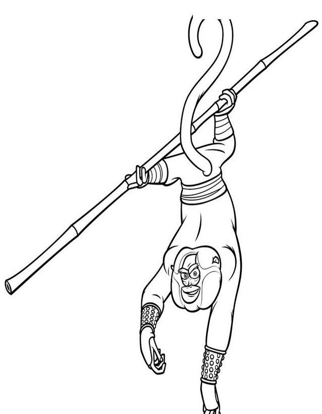 Kung fu panda da colorare 95