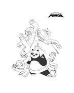 Kung fu panda da colorare 108
