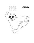 Kung fu panda da colorare 115