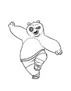 Kung fu panda da colorare 126