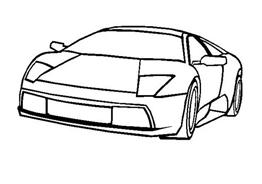 Automobile da colorare 305