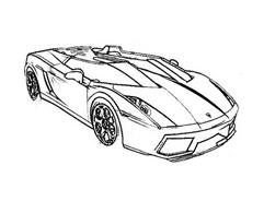 Automobile da colorare 308