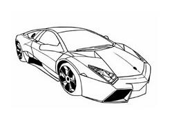 Automobile da colorare 310