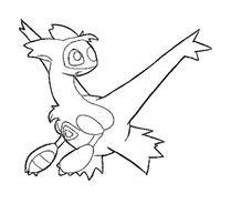 Pokemon 1 da colorare 50