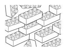 Lego da colorare 3
