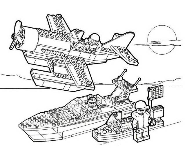 Lego da colorare 5