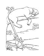 Il libro della giungla da colorare 82