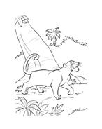 Il libro della giungla da colorare 99