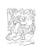 Il libro della giungla da colorare 132