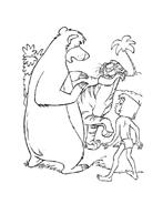Il libro della giungla da colorare 169