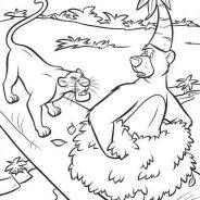 Il libro della giungla da colorare 193