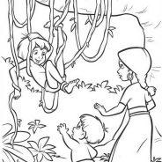 Il libro della giungla da colorare 206