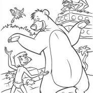 Il libro della giungla da colorare 208