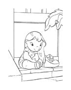 Lilo e stitch da colorare 5