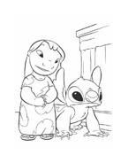 Lilo e stitch da colorare 11