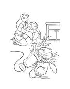 Lilo e stitch da colorare 14