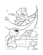 Lilo e stitch da colorare 17
