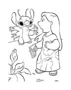 Lilo e stitch da colorare 25