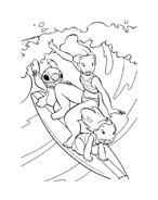 Lilo e stitch da colorare 34