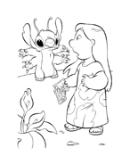 Lilo e stitch da colorare 43