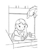 Lilo e stitch da colorare 44