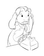 Lilo e stitch da colorare 46