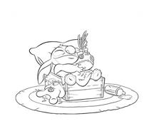 Lilo e stitch da colorare 72