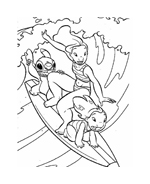 Lilo e stitch da colorare 94