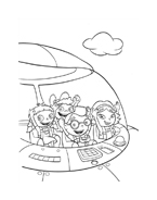 Little einsteins da colorare 7