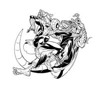 Spiderman da colorare 6