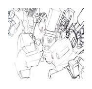 Transformers da colorare 4