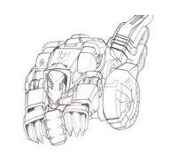 Transformers da colorare 5