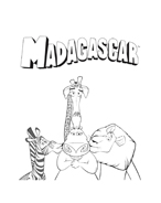 Madagascar da colorare 141