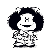 Mafalda da colorare 4