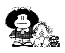 Mafalda da colorare 12