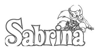Sabrina da colorare 4