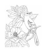 Fiore da colorare 313