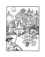 Il mago di Oz da colorare 4