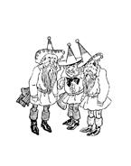 Il mago di Oz da colorare 6
