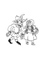 Il mago di Oz da colorare 11
