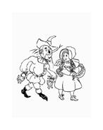 Il mago di Oz da colorare 40